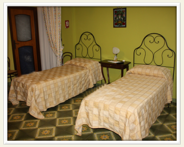 B&B Elvira al Duomo at Monreale - Bed and Breakfast - Camera Verde